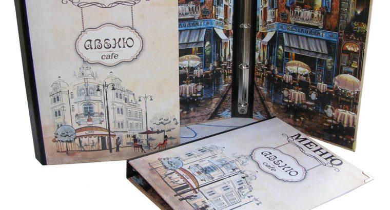 Папки меню купить счетницы кожаные папки изготовление в Киеве, Украина