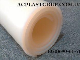 Резина силиконовая термостойкая, в рулонах, толщина 2-10 мм.