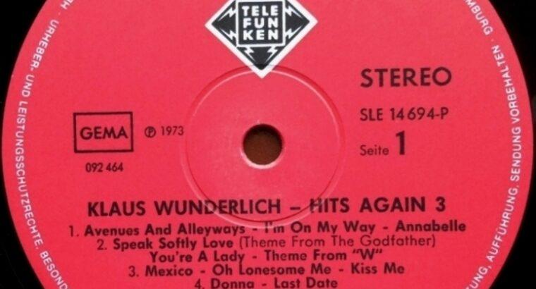 Виниловая пластинка Organ [Hammond] – Klaus Wunderlich