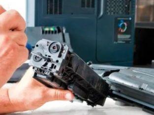 Заправка лайзерних принтерів, ремонт принтерів і чорно-білих / кольоро