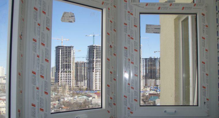 Вертикально сдвижные окна —