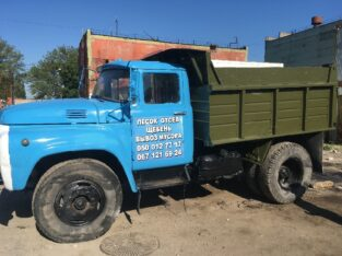 Вывоз мусора ЗИЛ, КАМАЗ, + грузчики