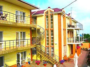 Курорт Затока отдых с детьми на Черном море.Отель Адам и Ева.