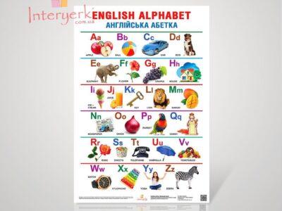 Стенд «Английский алфавит»