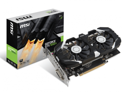 Видеокарта NVidia GeForce GTX 1050 TI 4 Gb