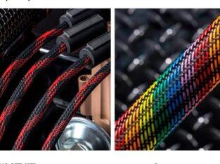 Защитная кабельная оплетка змеиная кожа Flexopet