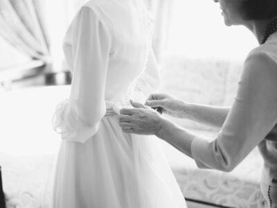 Ніжне весільне плаття