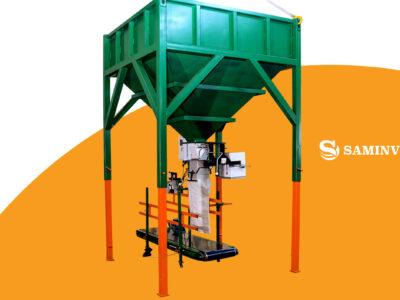 Линия фасовки в мешки 10-50 кг «Компакт-1»