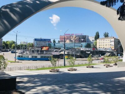 Реклама| Рекламний LED-екран в центрі міста | Рекламний щит |