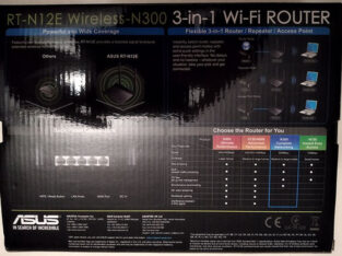 Продам Маршрутизатор с Wi-Fi Asus RT-N12 D1 в Киеве