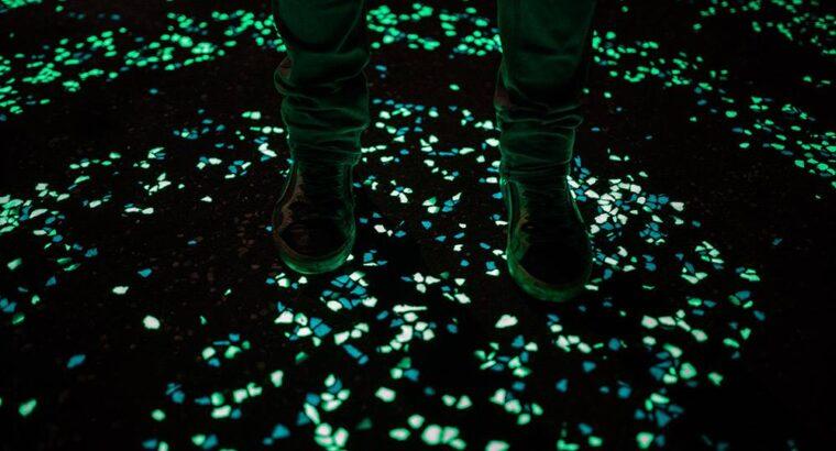 Камни светящиеся в темноте для декора