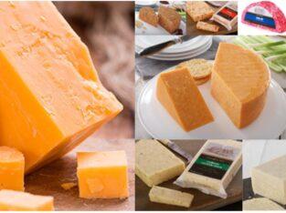 Сыр Чеддер в ассортименте