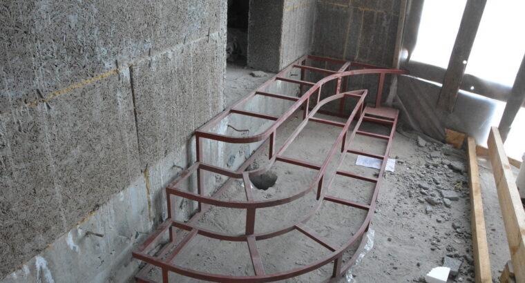 Радиусные лестницы.»Броневик» Днепр.