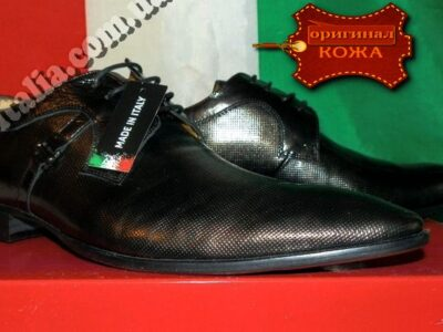 Туфли мужские кожаные Clare Morris оригинал производство Италия