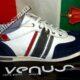 Кроссовки кожаные мужские фирмы Venus оригинал производство Италия