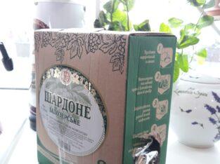 Херсонское вино Шардоне 3 л., bag in box