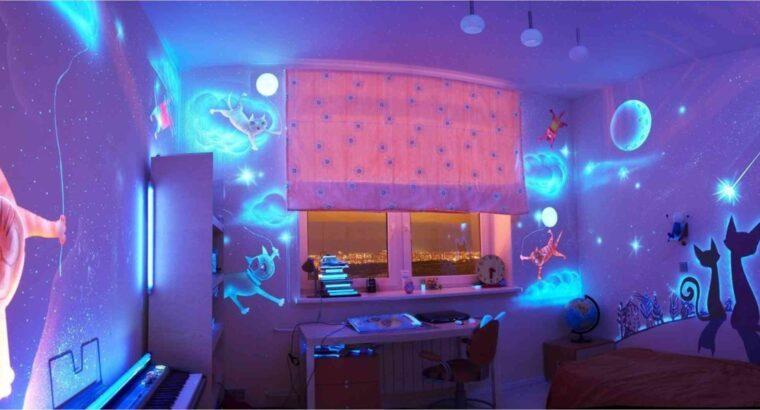 Сигнальная флуоресцентная краска Нокстон