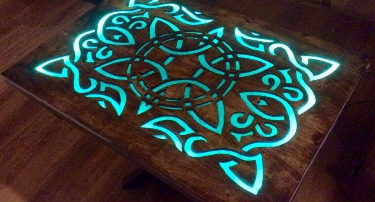 Готовая светящаяся краска Нокстон для металла, дерева, стекла и др.