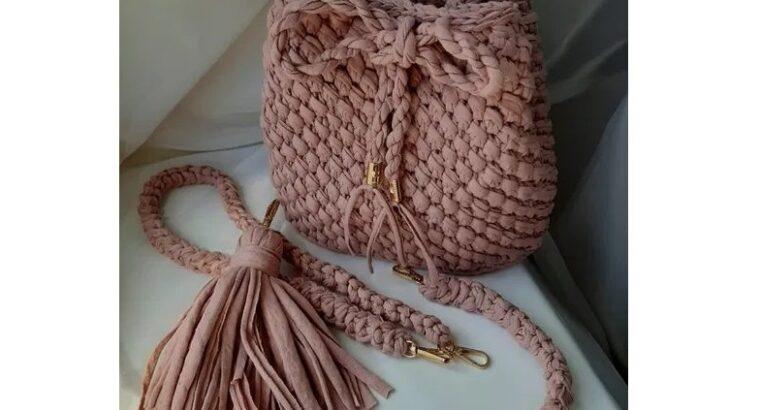 Вяжу под заказ сумки, клатчи, детские рюкзаки от 400 грн