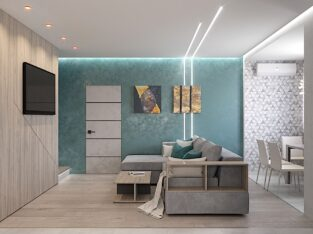 Квартира уникальной планировки в ЖК Вернисаж
