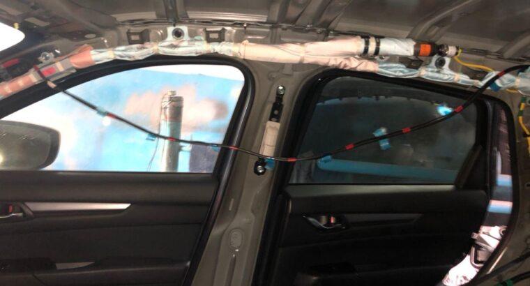 Перетяжка потолка, торпед. Перешив сидений, разблокировка ремней. Восстановление airbag