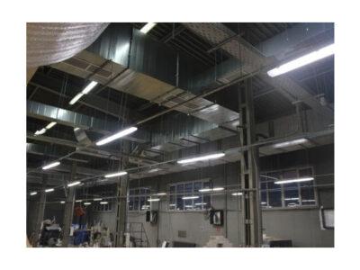 Монтаж систем вентиляции и кондиционирования для коммерческих и промышленных помещений