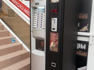 Установим кофейный автомат Saeco