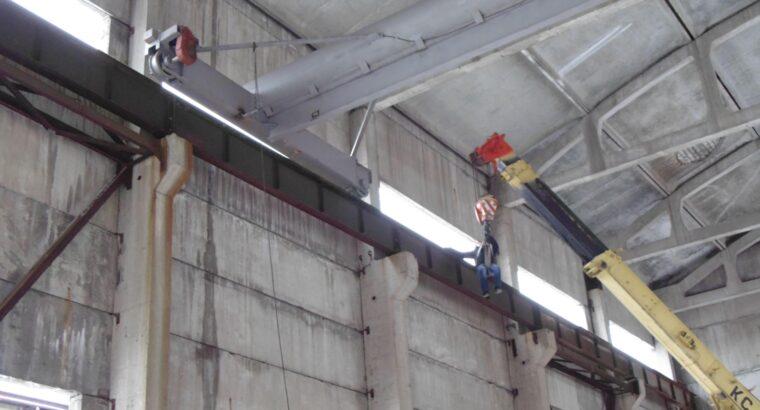 Монтаж, демонтаж кранов всех типов и металлоконструкций любой сложности