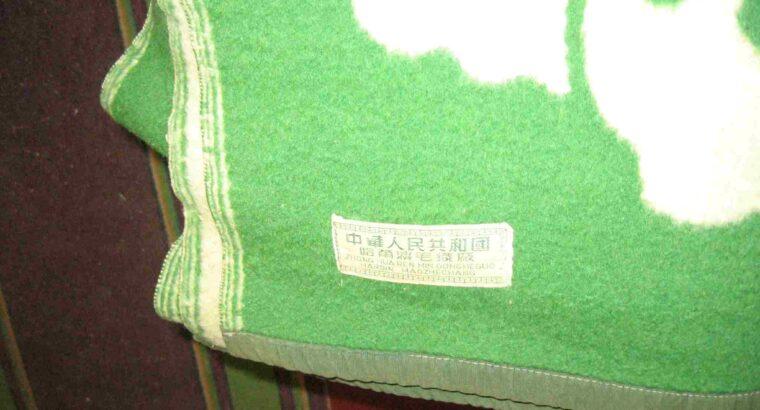 Одеяло из верблюжьей шерсти (Монголия)
