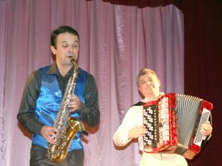 Музыканты саксофонист и баянист с доставкой на дом