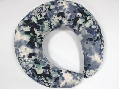 Подушка для кормления Лен пузырьки