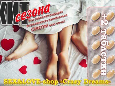 Мужские таблетки нового поколения «Yellow pills» обладают сильным возбуждающим действием
