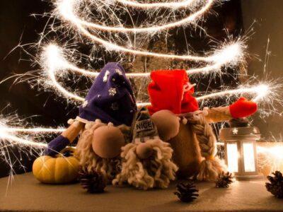 Мягкая игрушка скандинавский гном хенд мейд новогодний декор