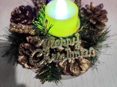 Подсвечник праздничный — Интернет-Магазин «Киця-Мура»