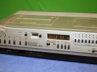 Куплю старые видеомагнитофоны Элетроника вм12 и вм18.Осцилограф С1-68.