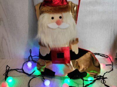 Новогодний носок со сладостями — Интернет-Магазин «Киця-Мура»
