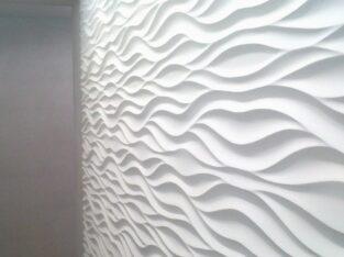 3D панели из гипса. монтаж +38(063)1210213