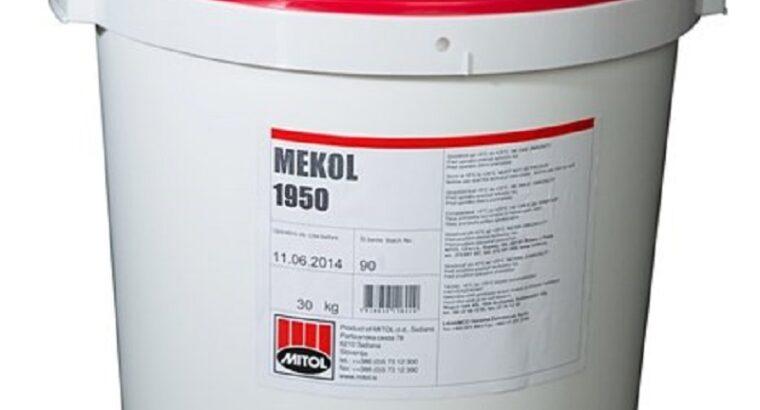 Двухкомпонентный клей Mekol 1950 для плёнки ПВХ.