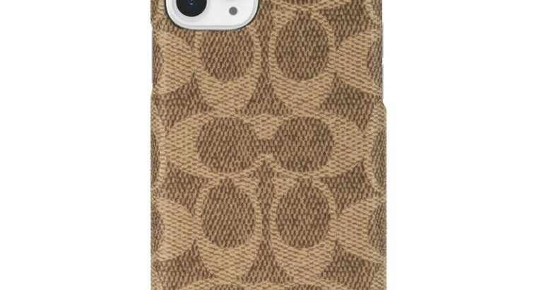 Чехол Для Смартфона IPhone 11 Pro COACH Signature Khaki
