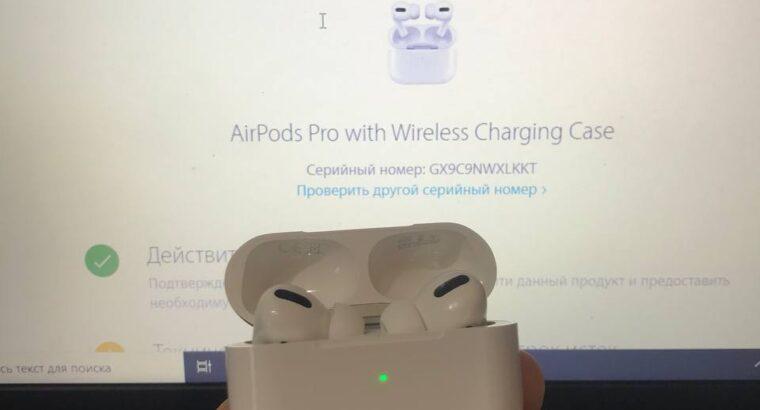 Продам Оригинальные AirPods Pro Б/У С Коробкой