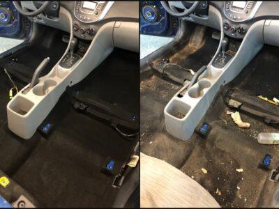 Детейлинг-химчистка салона автомобиля