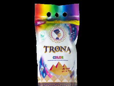 Безфосфатний пральний порошок для кольорових речей TRONA Color 1,5 кг