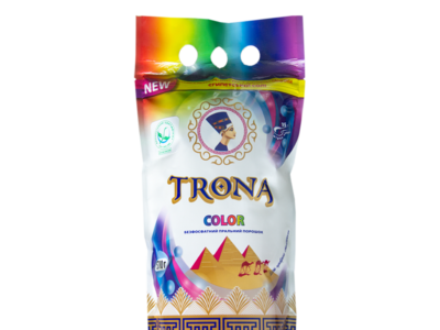 Безфосфатний пральний порошок для кольорових речей TRONA Color 2 кг