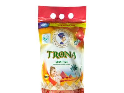 Дитячий пральний порошок TRONA Sensitive 1,5 кг
