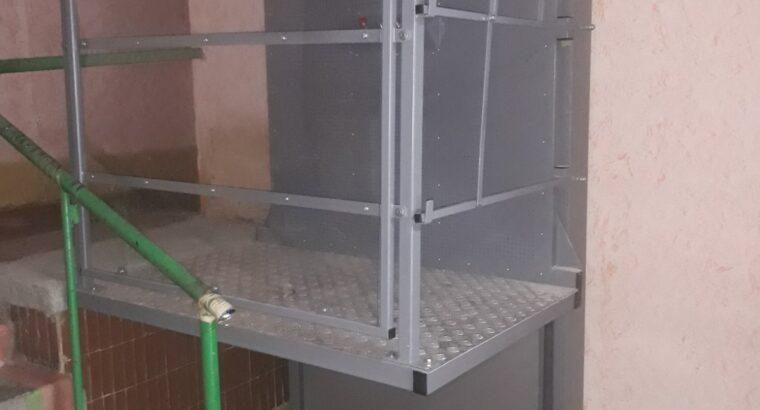 Вертикальні платформи відкритого типу для інвалідів.