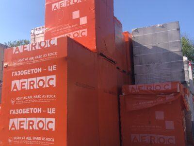 Газоблок (газобетон) Аерок (AEROC)