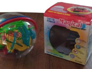 Детская игрушка-головоломка 3D шар-лабиринт 100 шагов