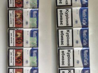 Продам оптом сигареты Monte Carlo синие
