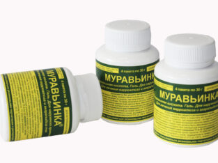 Муравьинка гель для лечения варроатоза и акарапидоза (85% муравьиная кислота), 4 пак. по 3