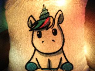 Подушка-ночник «Little unicorn»